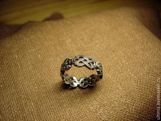 """Кольца ручной работы. Ярмарка Мастеров - ручная работа. Купить Кольцо """"Плетенка"""". Handmade. Серебряный, кельтский орнамент, кольцо"""