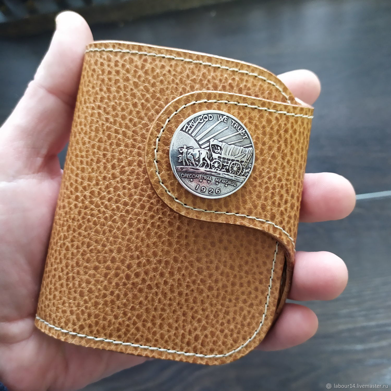 Leather wallet Labor 80 In God We Trust, Wallets, Sevsk,  Фото №1