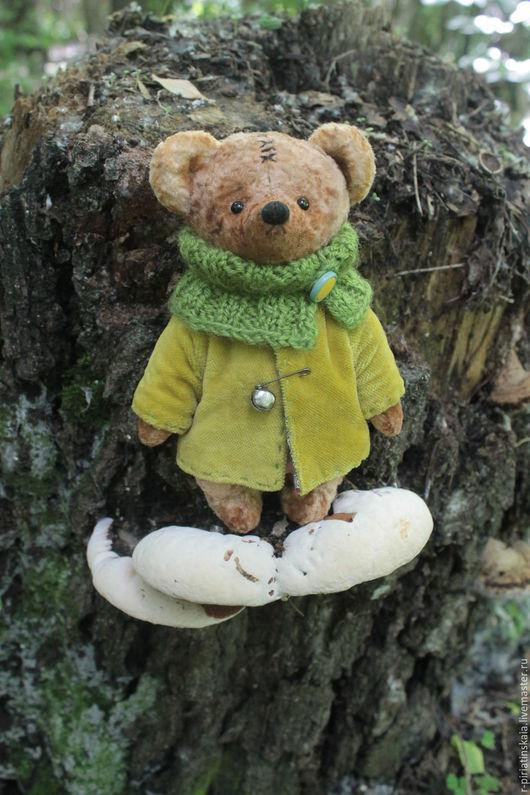 Ярмарка Мастеров ручная работа. Купить плюшевого мишку. Коллекционный мишка. Купить мишку Тедди. Винтажный мишка. Hendmade. Мишка Тедди ручной работы. Мишка Упуняням.