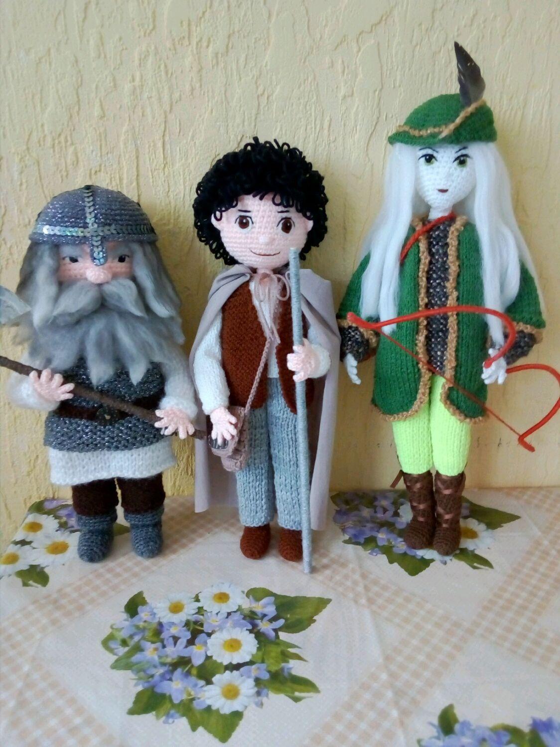 Эльф, гном и хоббит, Мягкие игрушки, Калининград,  Фото №1