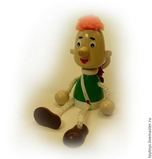 """Человечки ручной работы. Ярмарка Мастеров - ручная работа. Купить Игрушка """"Карлсон"""" на пружинке. Handmade. Игрушка для детей, игрушка в подарок"""
