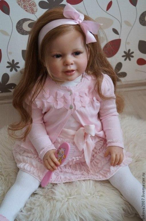 Куклы-младенцы и reborn ручной работы. Ярмарка Мастеров - ручная работа. Купить Мишель!!. Handmade. Рыжий, Генезис, генезис