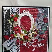 Открытки handmade. Livemaster - original item Elegant card for real ladies. Handmade.