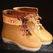 """Обувь ручной работы. Ярмарка Мастеров - ручная работа Ботинки """"Этно"""". Handmade."""