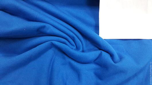 """Шитье ручной работы. Ярмарка Мастеров - ручная работа. Купить Футер """"Синий"""" 2-х нитка с начесом. Handmade. Ткань"""