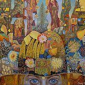 """Картины и панно ручной работы. Ярмарка Мастеров - ручная работа картина """"Шляпа -2"""" (серия из 3-х картин). Handmade."""