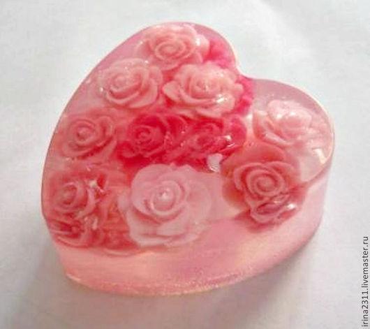 """Мыло ручной работы. Ярмарка Мастеров - ручная работа. Купить Мыло """"Утренняя роза"""". Handmade. Мыло ручной работы, мыло"""