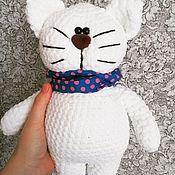 Мягкие игрушки ручной работы. Ярмарка Мастеров - ручная работа Плюшевый кот. Handmade.