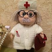 Куклы и игрушки ручной работы. Ярмарка Мастеров - ручная работа кукла добрый доктор Айболит. Handmade.