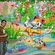 Vinyl wall sticker-Baby raccoon. Wallpaper. Art-foto. Online shopping on My Livemaster.  Фото №2