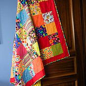 """Для дома и интерьера ручной работы. Ярмарка Мастеров - ручная работа Покрывало """"Лоскутная эклектика"""". Handmade."""