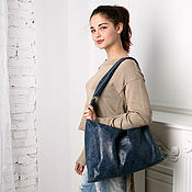 Сумки и аксессуары handmade. Livemaster - original item Leather hobo bag