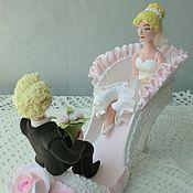 Свадебный салон ручной работы. Ярмарка Мастеров - ручная работа Жених и невеста в туфельке. Handmade.