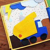 Куклы и игрушки ручной работы. Ярмарка Мастеров - ручная работа Самосвал. Handmade.
