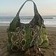 Женские сумки ручной работы. Заказать сумка зелёная. Paradise Bali. Ярмарка Мастеров. Сумка, кожа питона