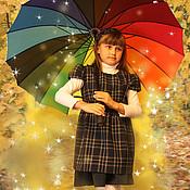 Работы для детей, handmade. Livemaster - original item School uniform Sorceress. Handmade.