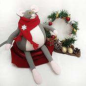 Мягкие игрушки ручной работы. Ярмарка Мастеров - ручная работа Мягкие игрушки: Игрушки: мышь. Handmade.