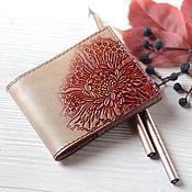 Сумки и аксессуары handmade. Livemaster - original item Wallet cardholders of leather colours of Autumn. Handmade.