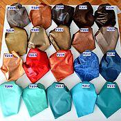 Материалы для творчества handmade. Livemaster - original item Genuine leather Set to choose from (colors 209-228, updated 20.08.21). Handmade.
