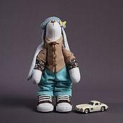 Тильда Зверята ручной работы. Ярмарка Мастеров - ручная работа Заяц интерьерный,игрушка. Handmade.
