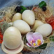 Материалы для творчества handmade. Livemaster - original item Easter egg, blank for painting. Handmade.