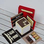 Подарки к праздникам handmade. Livemaster - original item The box is a gift for the karate instructor. Handmade.