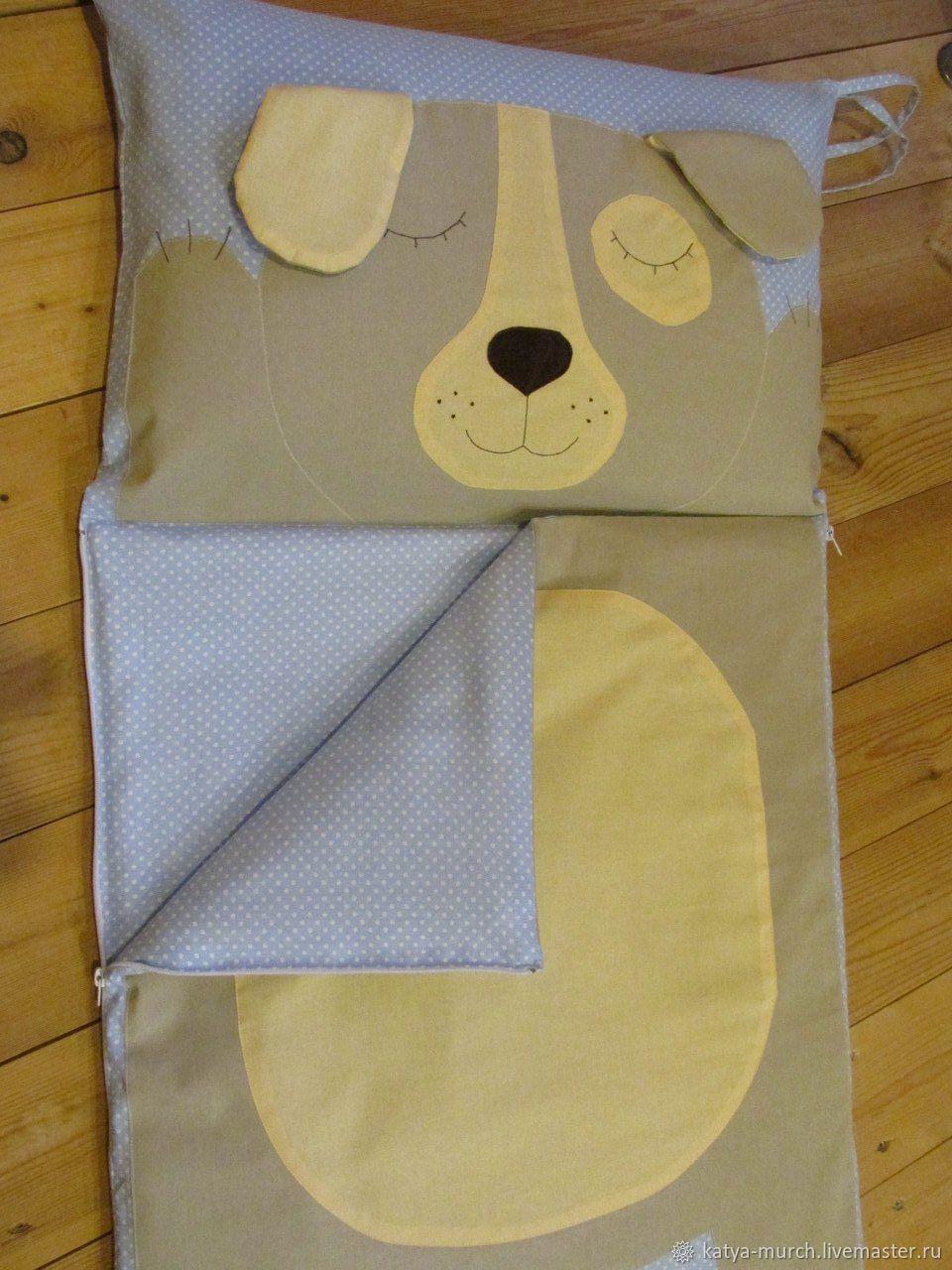 """Детская ручной работы. Ярмарка Мастеров - ручная работа. Купить Спальный мешок, спальник """"Собачка"""". Handmade. Конверт, спальник"""
