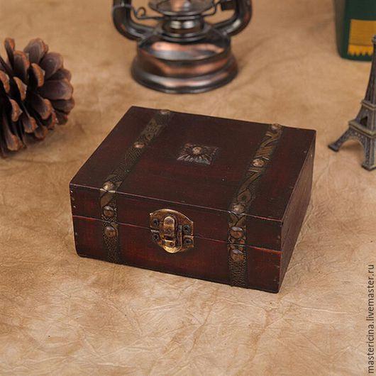 Упаковка ручной работы. Ярмарка Мастеров - ручная работа. Купить Шкатулка Коробка для упаковки хранения деревянная. Handmade. Коричневый, коробочки