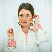 Шелковая ваниль - блузка «унисекс»
