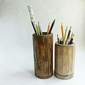 Для дома и интерьера ручной работы. Ярмарка Мастеров - ручная работа Стаканы из состаренной сосны. Handmade.