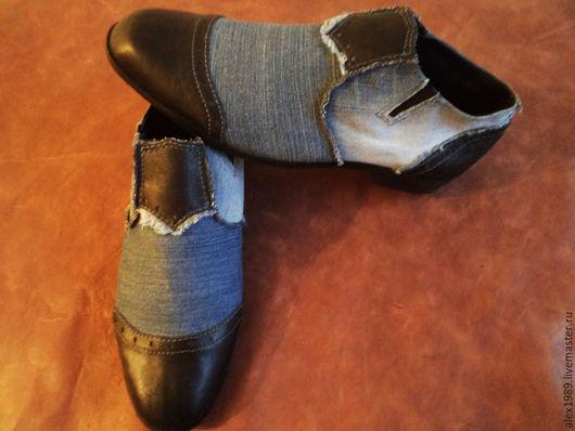 """Обувь ручной работы. Ярмарка Мастеров - ручная работа. Купить Мужские туфли """"Alejandro"""". Handmade. Разноцветный, обувь, мужские туфли"""