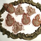 Материалы для творчества handmade. Livemaster - original item Appliques antique №949. Handmade.