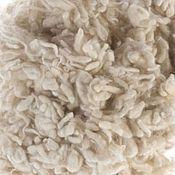 Войлок ручной работы. Ярмарка Мастеров - ручная работа Непсы шерстяные -10 гр натуральный белый. Handmade.