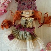 Куклы и игрушки ручной работы. Ярмарка Мастеров - ручная работа Зайчишка-девочка Куку. Handmade.
