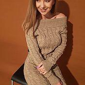 Платья ручной работы. Ярмарка Мастеров - ручная работа Платье вязаное женское. Handmade.