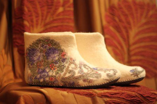 Обувь ручной работы. Ярмарка Мастеров - ручная работа. Купить Милый друг. Handmade. Разноцветный, ручная авторская работа