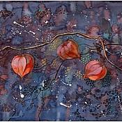 Картины и панно ручной работы. Ярмарка Мастеров - ручная работа Фонарики. Handmade.