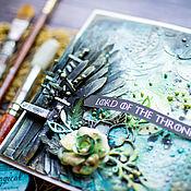 Открытки ручной работы. Ярмарка Мастеров - ручная работа Открытка Игра престолов. Handmade.