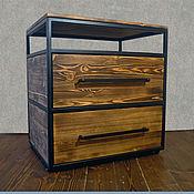 Хранение вещей ручной работы. Ярмарка Мастеров - ручная работа Комод в стиле Лофт. Handmade.