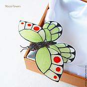 Украшения handmade. Livemaster - original item Butterfly . Hair clip brooch. polymer clay.. Handmade.