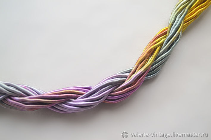 Thick viscose cord (no. №24), price per 1 meter, Thread, Moscow,  Фото №1