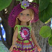 Куклы и игрушки handmade. Livemaster - original item Dress, hat and boots