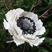Цветы и флористика ручной работы. Ярмарка Мастеров - ручная работа бумажные цветы, большие бумажные цветы, свадебные цветы. Handmade.
