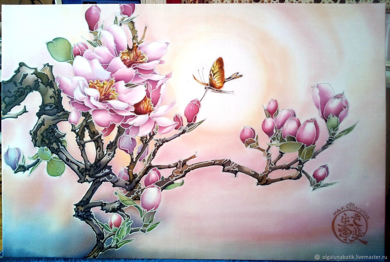 Фото деревьев с розовыми цветами может
