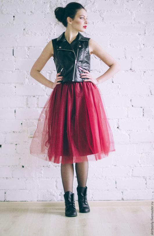 Юбки ручной работы. Ярмарка Мастеров - ручная работа. Купить юбка пачка, шопенка, пышная юбка, фатинка. Handmade. Комбинированный
