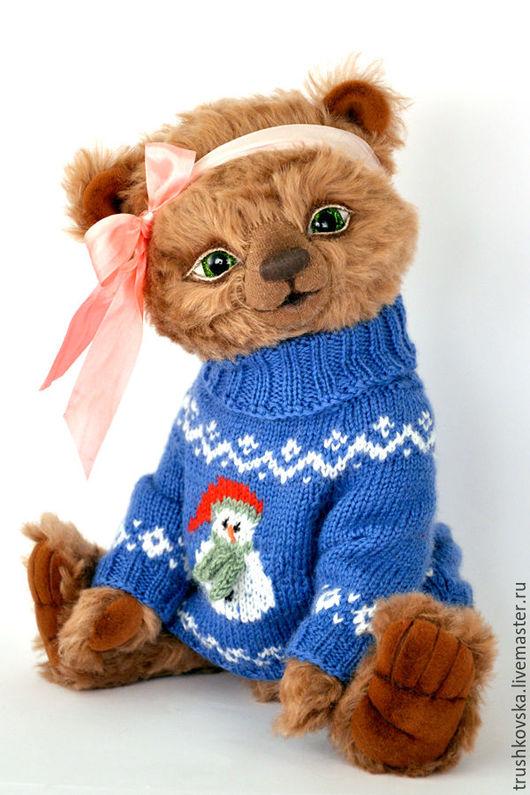 Мишки Тедди ручной работы. Ярмарка Мастеров - ручная работа. Купить Шарлотта. Handmade. Коричневый, мохер