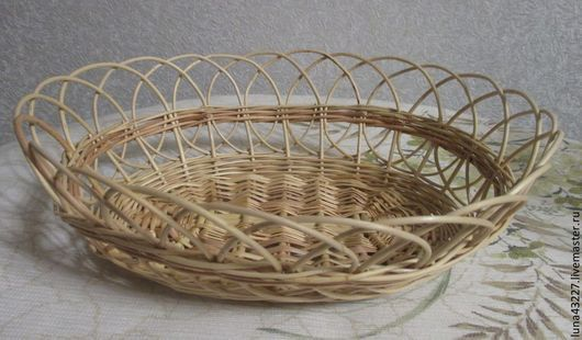 Kitchen handmade. Livemaster - handmade. Buy The candy dish (Plate) is.Plate, beige, table setting, willow vine