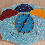 """Для дома и интерьера ручной работы. Ярмарка Мастеров - ручная работа Часы """"Погода в доме"""". Handmade."""