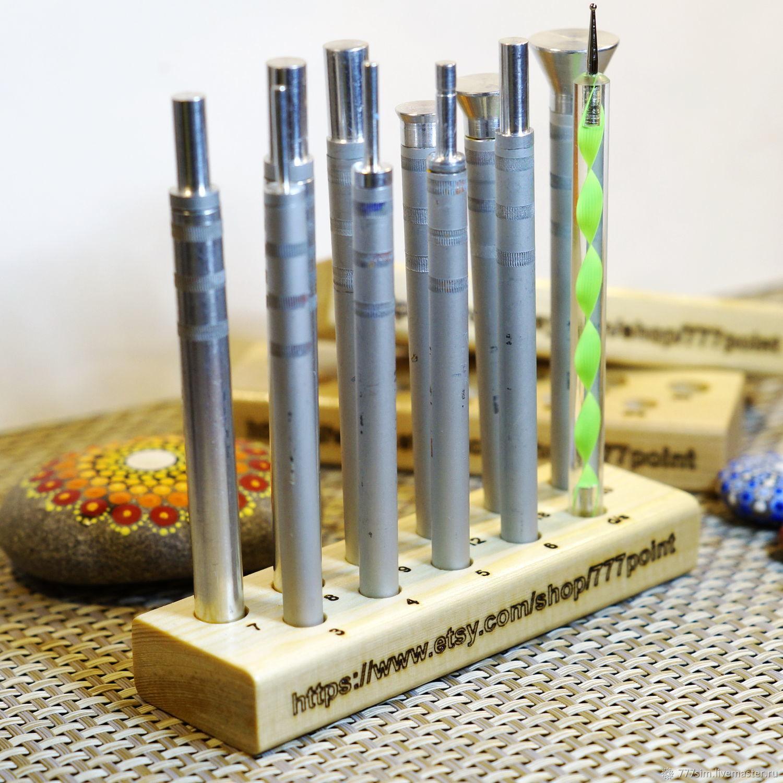 Органайзер - подставка для инструмента (для набора дотсов Super set), Органайзеры, Самара,  Фото №1