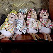 Куклы и игрушки ручной работы. Ярмарка Мастеров - ручная работа Сонные барашки. Handmade.